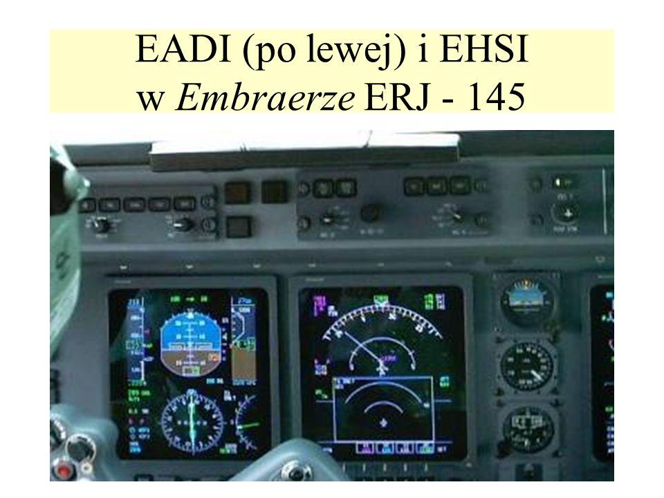 EADI (po lewej) i EHSI w Embraerze ERJ - 145