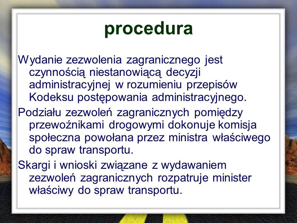 procedura Wydanie zezwolenia zagranicznego jest czynnością niestanowiącą decyzji administracyjnej w rozumieniu przepisów Kodeksu postępowania administ