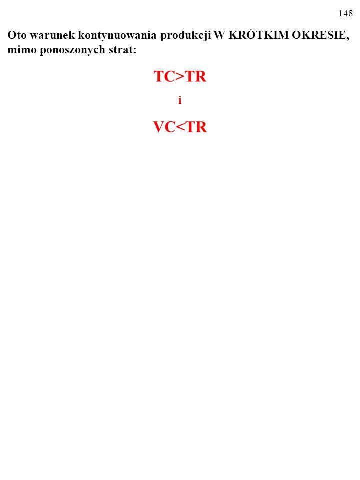 147 e) Zaznacz na rysunku wysokość ceny, po jakiej jest sprzedawany produkt, oraz ekonomiczny zysk (stratę) przedsiębiorstwa. e) X 1. Obszar X 1 X 2 X