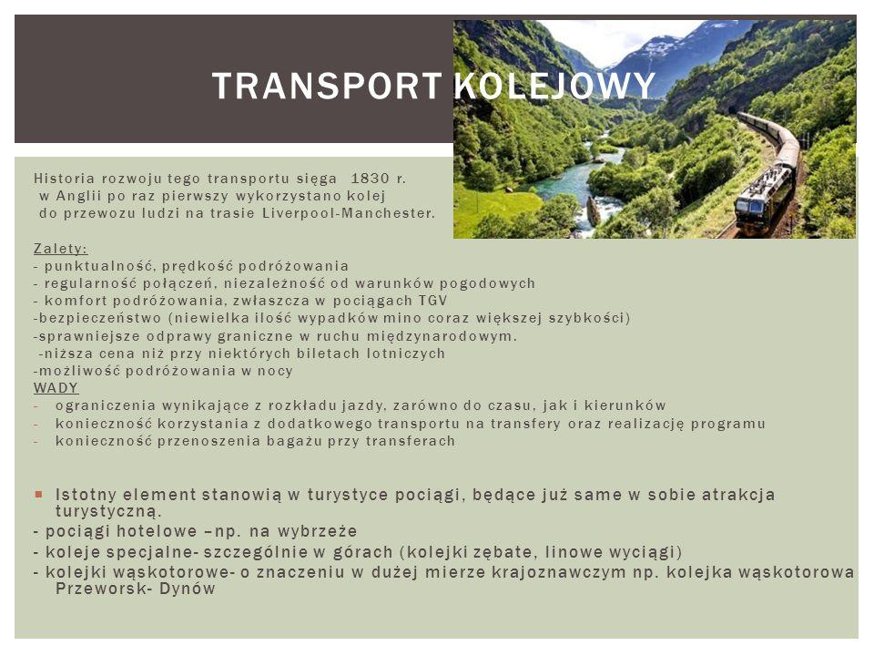 Transport lotniczy – gałąź transportu powietrznego (czyli przemieszczania drogą powietrzną osób lub towarów), w którym środki transportu stanowią statki powietrzne z kategorii samolotów i śmigłowców.