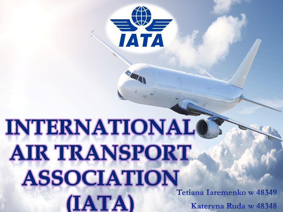IATA dba o interesy oraz organizuje bezkonfliktową współpracę czterech podstawowych podmiotów występujących na rynku przewozów lotniczych: linii lotniczych, władz państwowych, społeczeństwa i tzw.