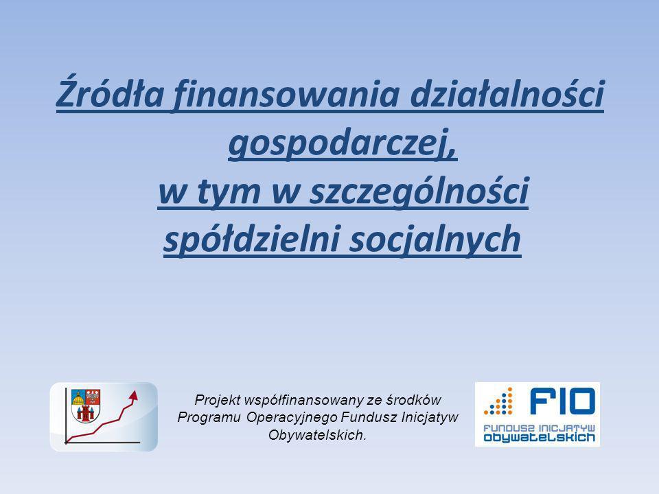 Podstawową barierą na drodze rozwoju i umacniania pozycji rynkowej spółdzielni socjalnych są ograniczenia kapitałowe.