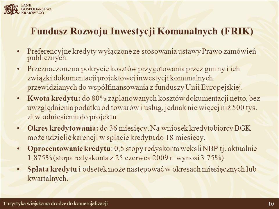 11 Kredyty z linii Europejskiego Banku Inwestycyjnego (EBI) Przedmiot kredytu: inwestycje realizowane m.in.