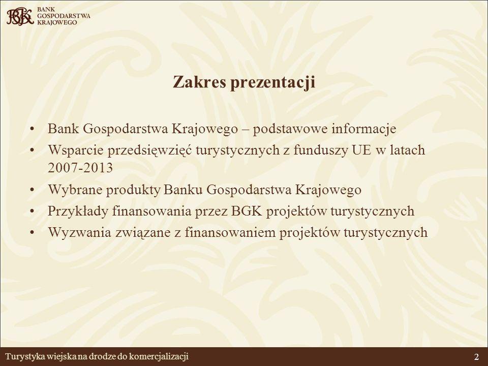 3 Bank Gospodarstwa Krajowego Bank Gospodarstwa Krajowego (utworzony rozporządzeniem z dnia 30 maja 1924 r.) jest jedynym bankiem państwowym.