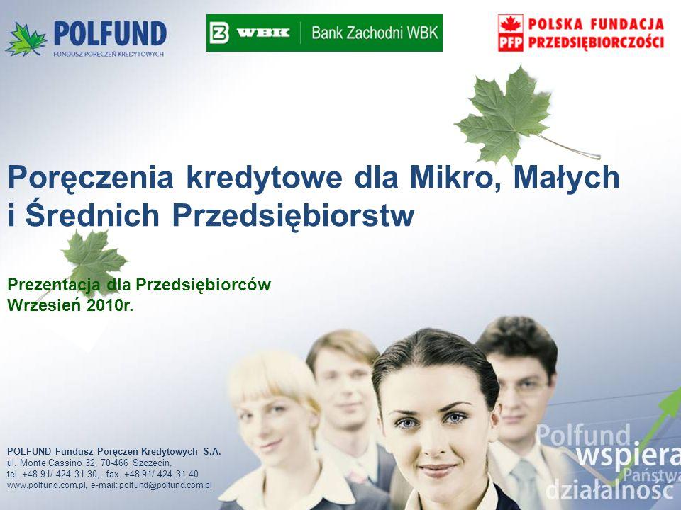 Kapitał akcyjny:16 mln PLN Akcjonariusze: 50% Bank Zachodni WBK S.A.