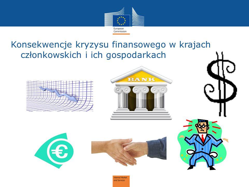 Konsekwencje kryzysu finansowego w krajach członkowskich i ich gospodarkach