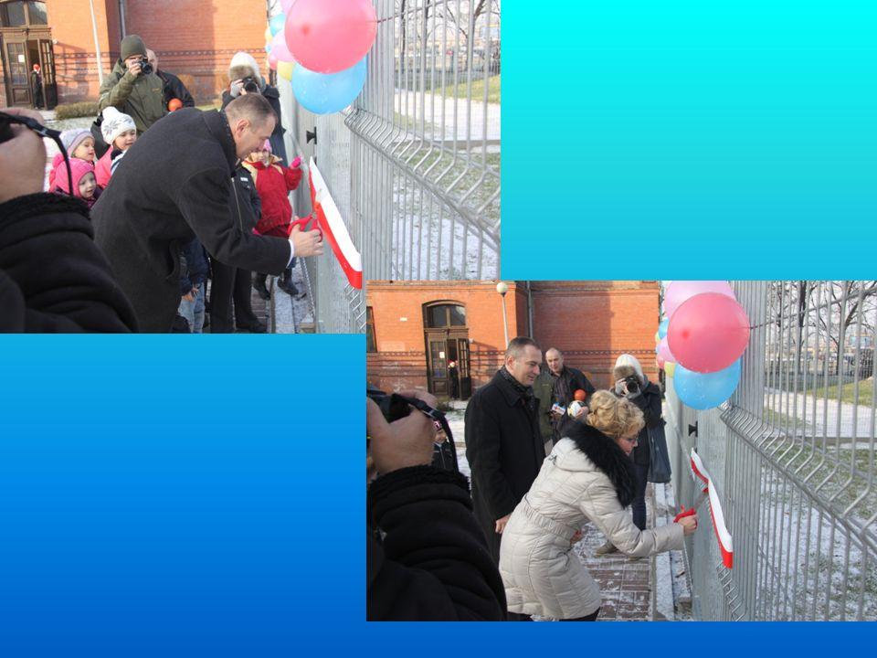 Otwarcie placu zabaw Uroczystego otwarcia placu zabaw w dniu 06.12.2012 r.