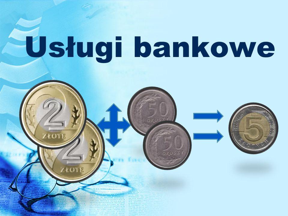 Usługi bankowe