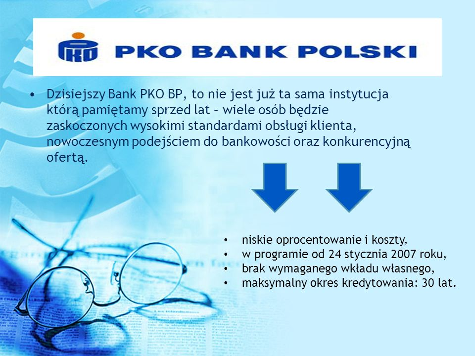 Dzisiejszy Bank PKO BP, to nie jest już ta sama instytucja którą pamiętamy sprzed lat – wiele osób będzie zaskoczonych wysokimi standardami obsługi kl