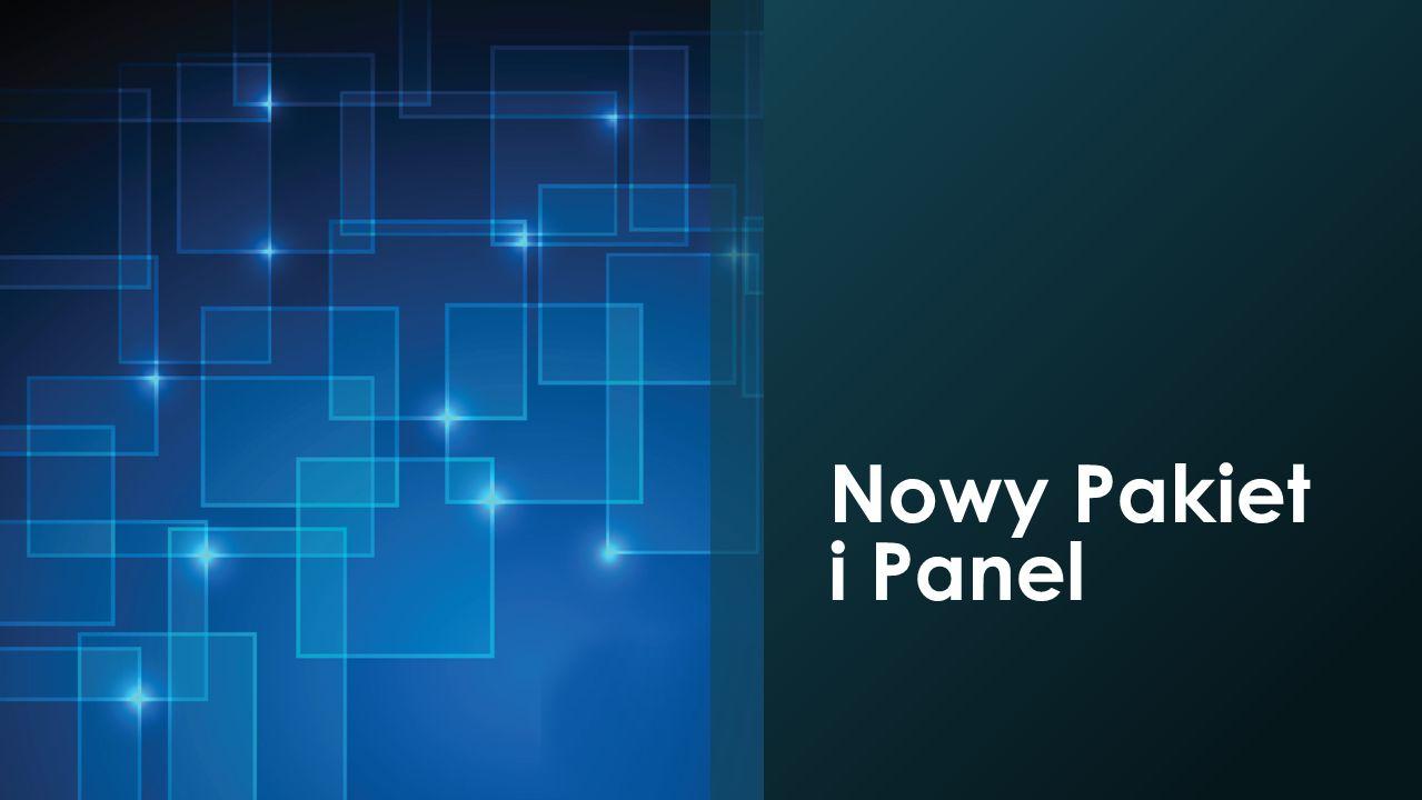 Nowy Pakiet i Panel