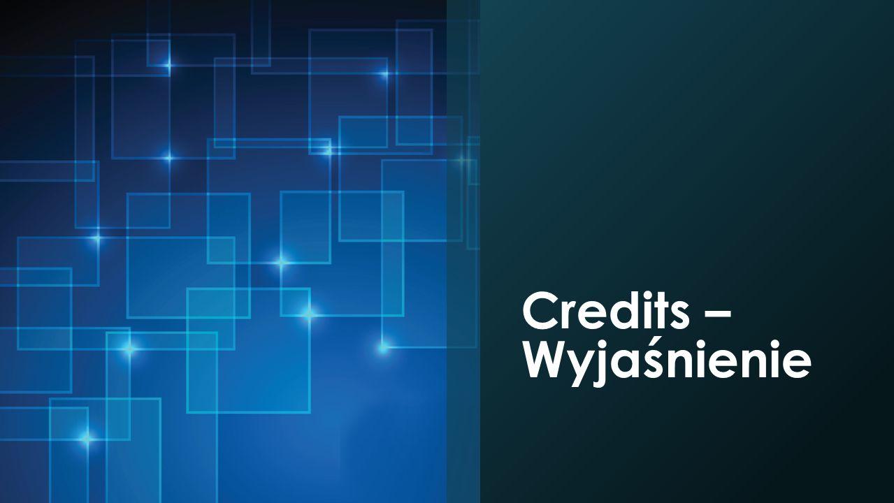 Credits – Wyjaśnienie