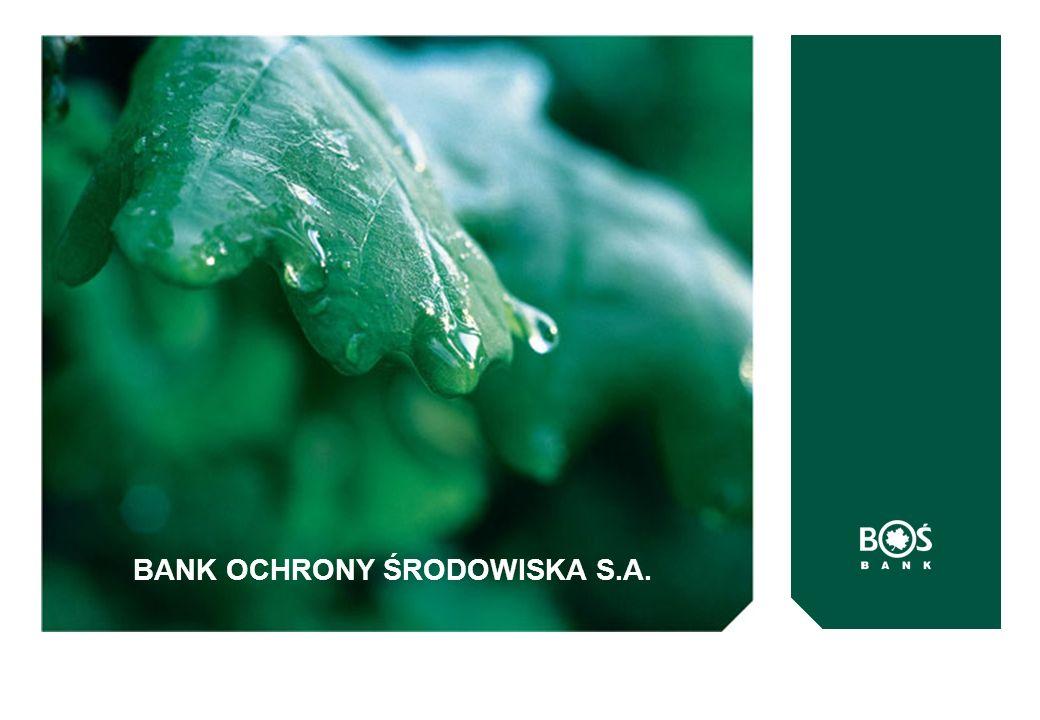 BANK OCHRONY ŚRODOWISKA S.A.