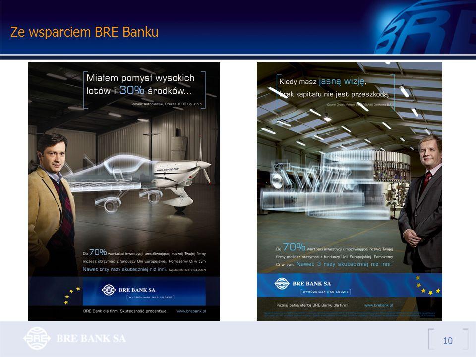 Ze wsparciem BRE Banku 10