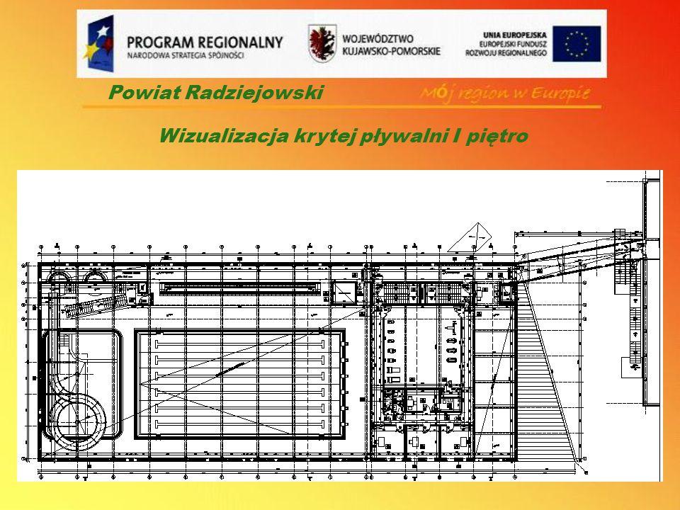 Powiat Radziejowski Wizualizacja krytej pływalni I piętro