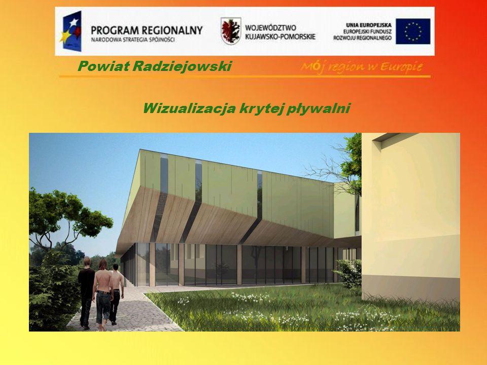 Powiat Radziejowski Wizualizacja krytej pływalni