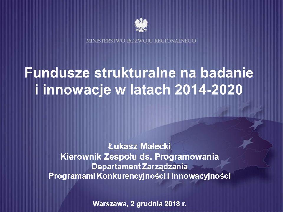IV oś priorytetowa PO IR 11 Struktura finansowania 3 osi PO IR 2014-2020 Cel szczegółowy IV osi PO IR: Wzmocnienie potencjału naukowo-badawczego jednostek naukowych oraz zwiększenie gospodarczego wykorzystania badań Wsparcie powinno przyczynić się do wzrostu jakości badań prowadzonych w jednostkach naukowych, podniesienia pozycji polskiej nauki na arenie światowej oraz wzrostu gospodarczego wykorzystania badań prowadzonych w Polsce.