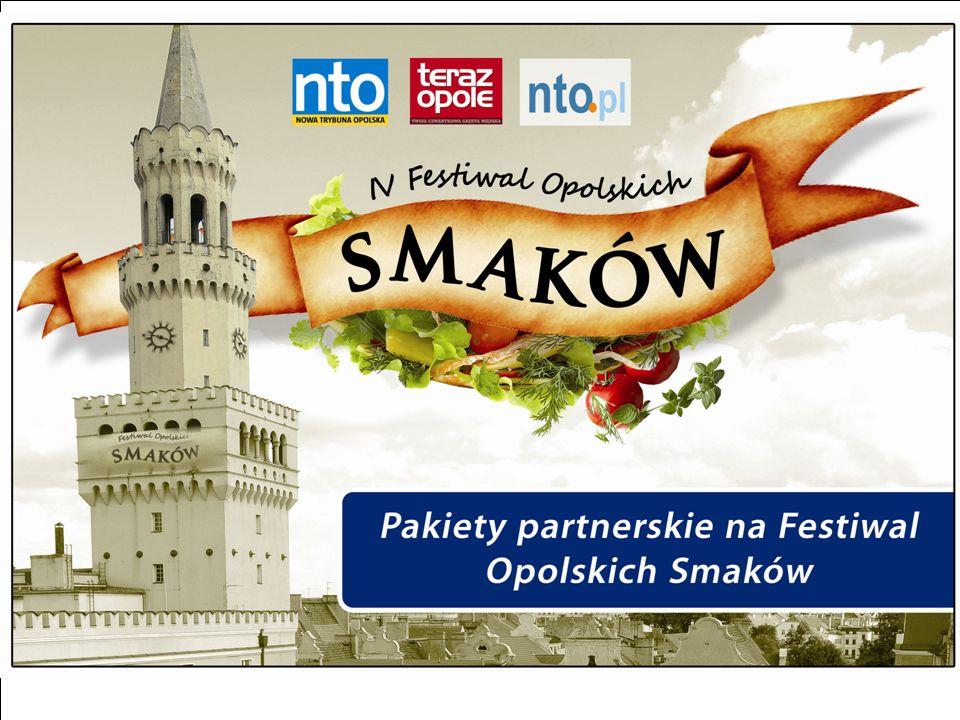 IV Festiwal Opolskich Smaków Czy wiecie, że ponad 30%* naszych internautów nie ma czasu na przygotowywanie posiłków w domu.