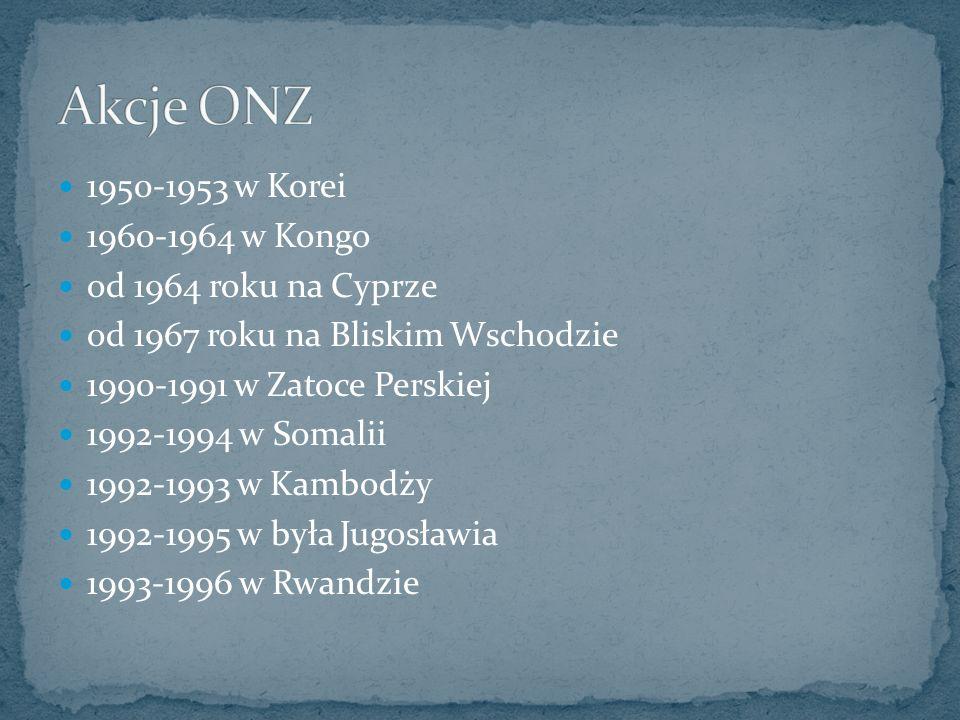 1950-1953 w Korei 1960-1964 w Kongo od 1964 roku na Cyprze od 1967 roku na Bliskim Wschodzie 1990-1991 w Zatoce Perskiej 1992-1994 w Somalii 1992-1993