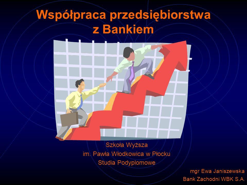 BANK - przedsiębiorstwo wykonujące działalność polegającą na przyjmowaniu depozytów, udzielaniu kredytów, wydawaniu instrumentów pieniądza elektronicznego oraz innych czynności, określonych przepisami prawa i wymienionych w statucie banku.