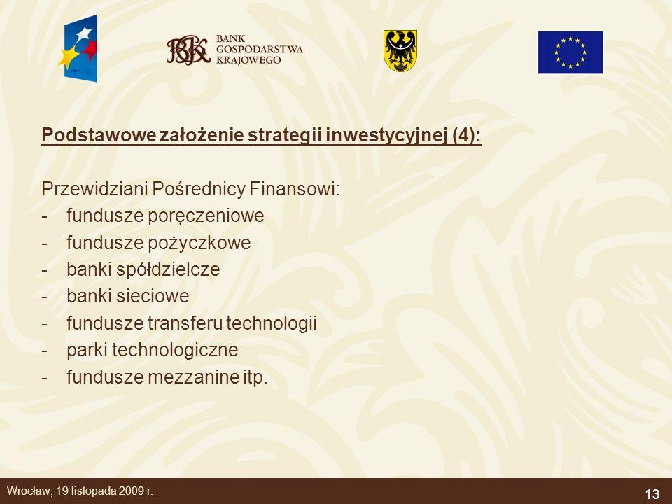 13 Wrocław, 19 listopada 2009 r.