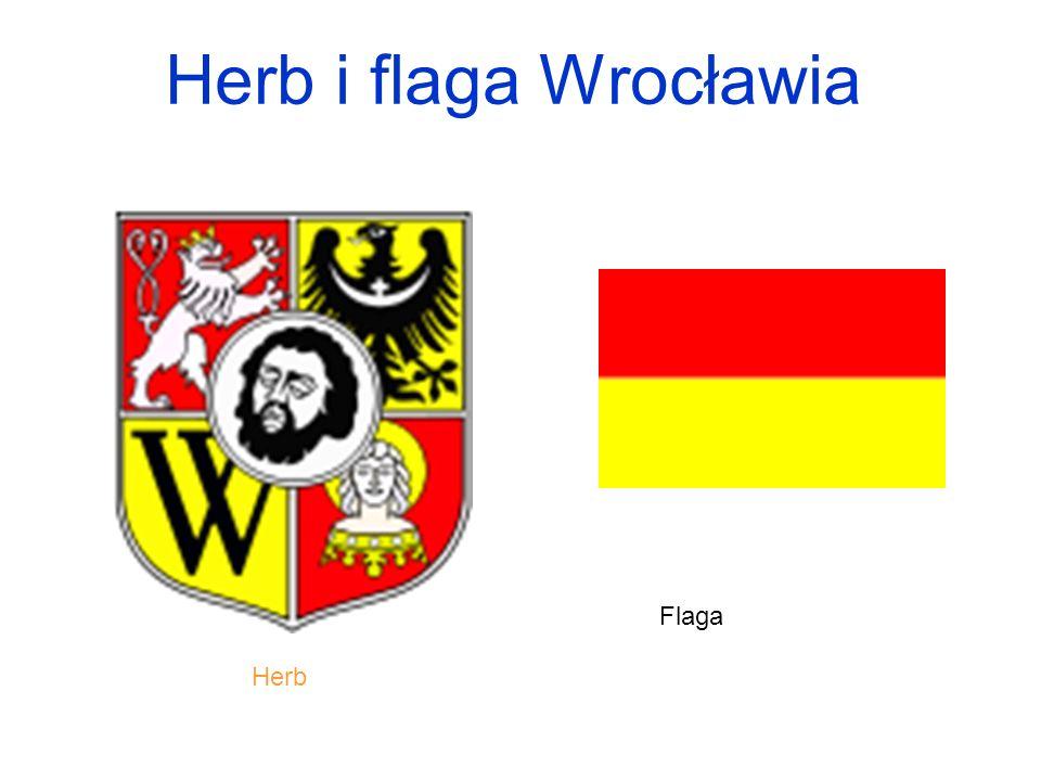 Herb i flaga Wrocławia Herb Flaga