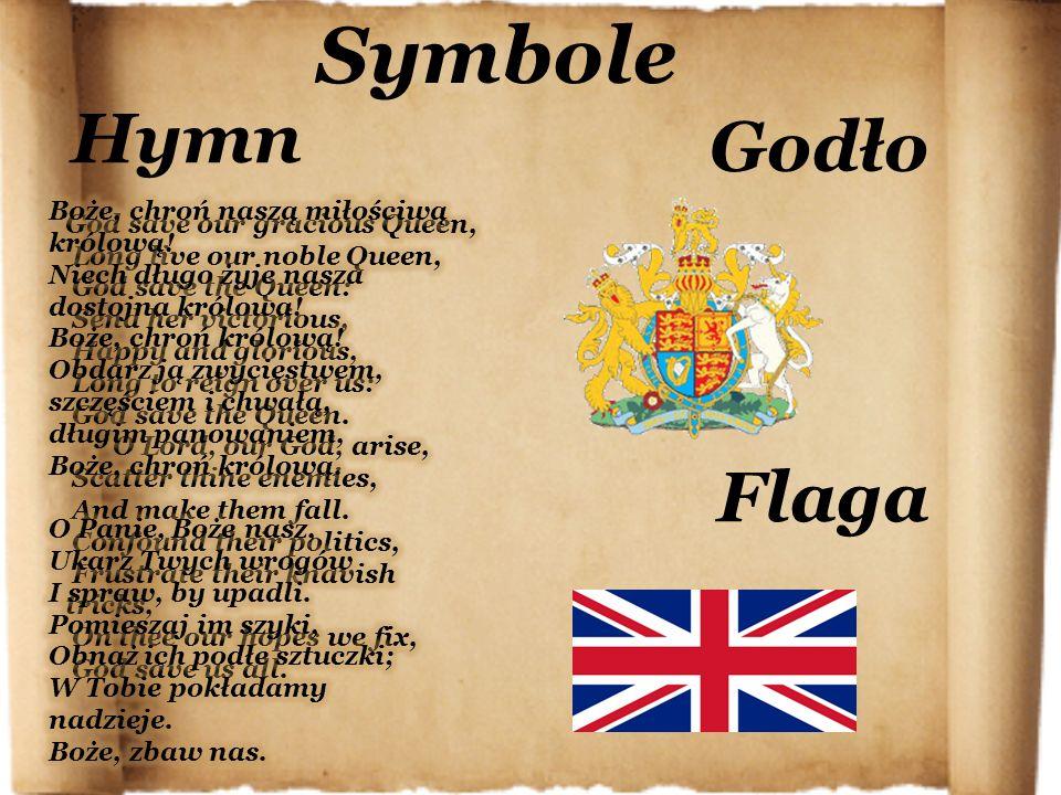 Symbole Hymn Flaga Godło