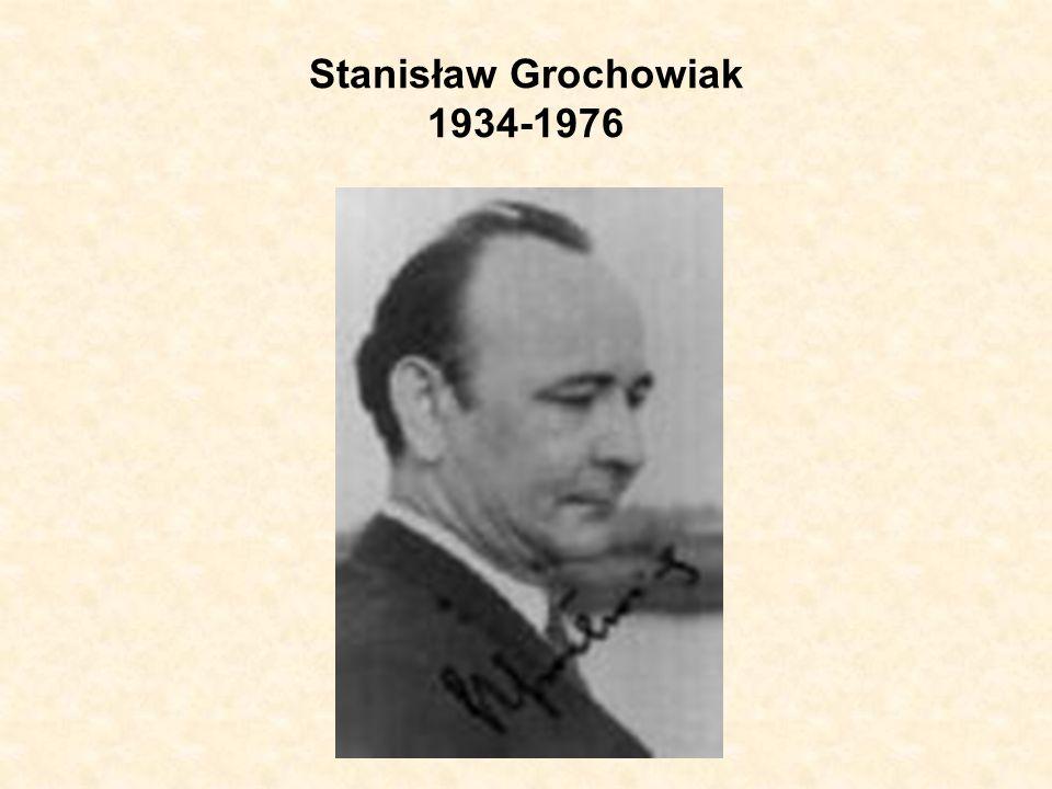 Stanisław Grochowiak 1934-1976