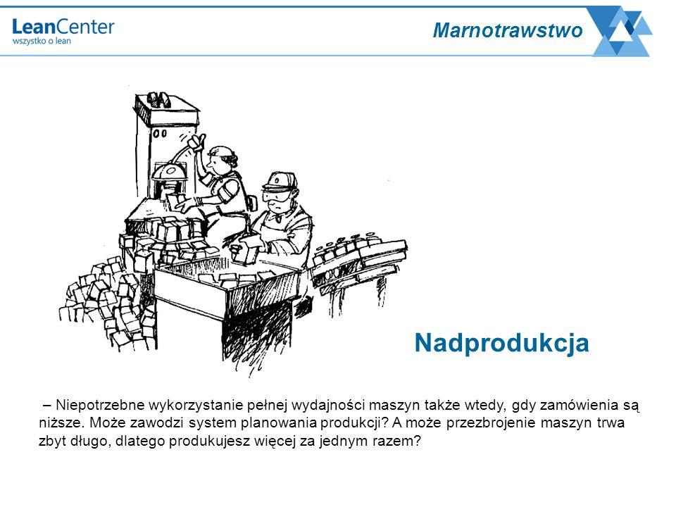– Niepotrzebne wykorzystanie pełnej wydajności maszyn także wtedy, gdy zamówienia są niższe. Może zawodzi system planowania produkcji? A może przezbro