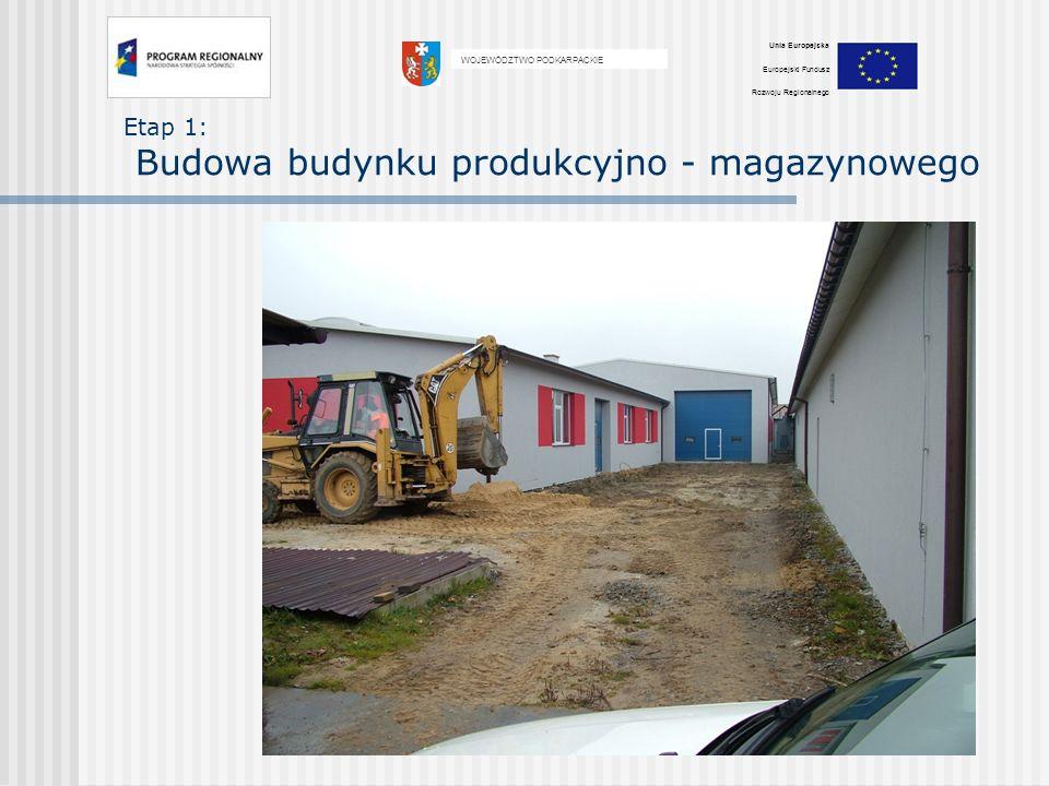 Etap 2 : Zakup : centrum obróbcze Bramowe centrum obróbcze VISION WIDE VF - 4000 wartość maszyny: 1.204.000,00 PLN planowany termin odbioru listopad 2010 WOJEWÓDZTWO PODKARPACKIE Unia Europejska Europejski Fundusz Rozwoju Regionalnego