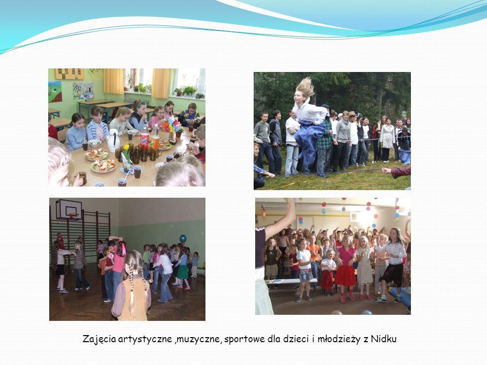 Zajęcia artystyczne,muzyczne, sportowe dla dzieci i młodzieży z Nidku