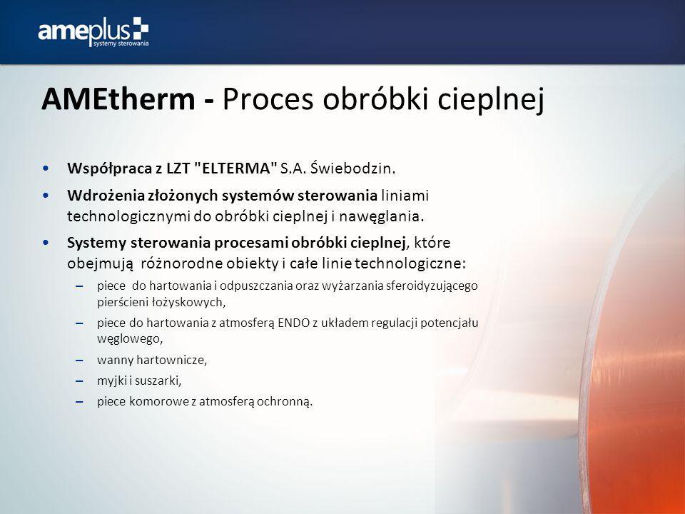 AMEtherm - Proces obróbki cieplnej Współpraca z LZT