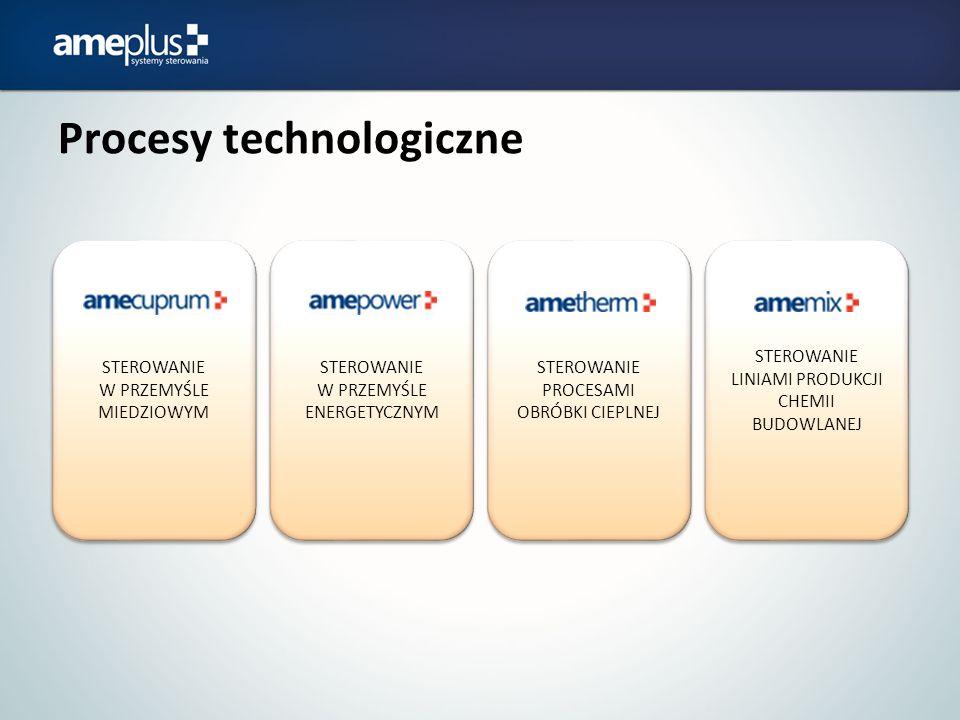 Procesy technologiczne STEROWANIE W PRZEMYŚLE MIEDZIOWYM STEROWANIE W PRZEMYŚLE ENERGETYCZNYM STEROWANIE PROCESAMI OBRÓBKI CIEPLNEJ STEROWANIE LINIAMI