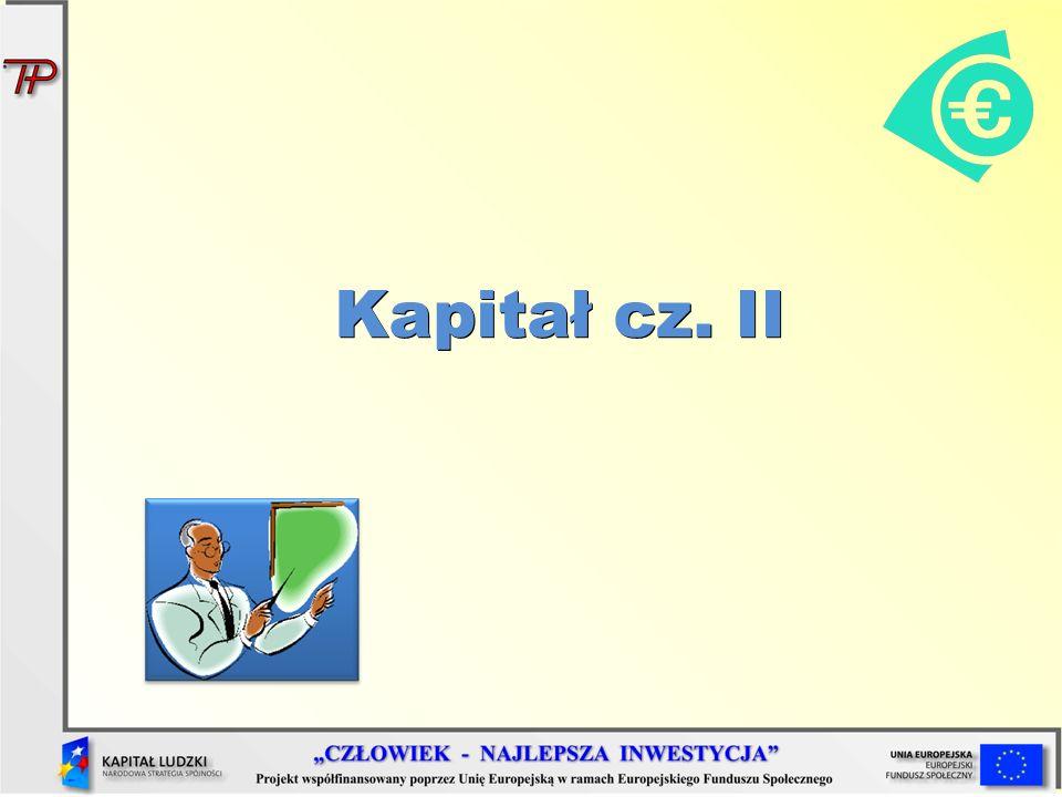 Kapitał cz. II