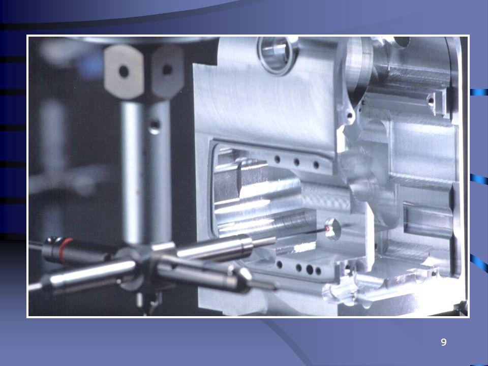 20 Przykład głowicy przegubowej nastawianej ręcznie - Głowica MH8 firmy RENISHAW