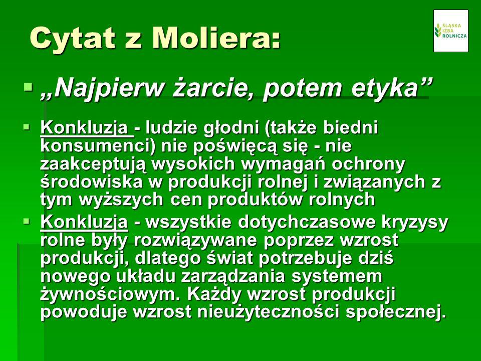 Żeby państwa członkowskie UE i Polska mogły obrać kurs na rolnictwo społecznie zrównoważone wymagane są decyzje polityków.