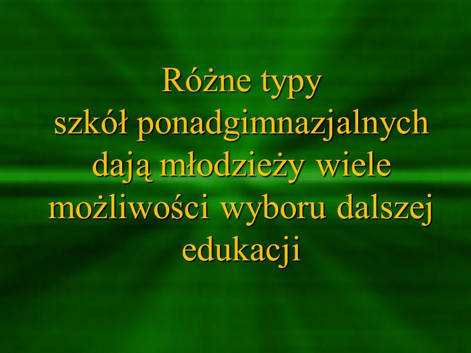 W Powiecie Buskim zasadnicze szkoły zawodowe oferują kształcenie w zawodach: Zasadnicza Szkoła Zawodowa w Zespole Szkół Ponadgimnazjalnych im.
