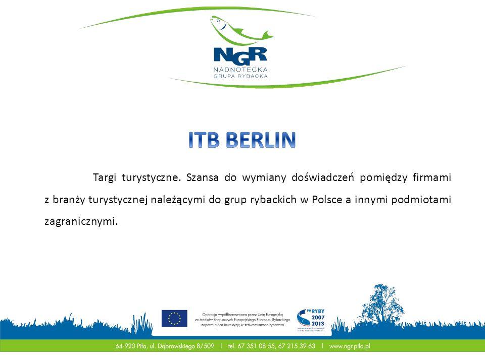 Targi turystyczne. Szansa do wymiany doświadczeń pomiędzy firmami z branży turystycznej należącymi do grup rybackich w Polsce a innymi podmiotami zagr