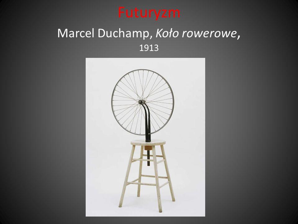 Futuryzm Marcel Duchamp, Koło rowerowe, 1913