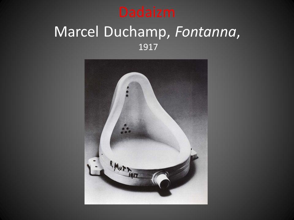 Dadaizm Marcel Duchamp, Fontanna, 1917