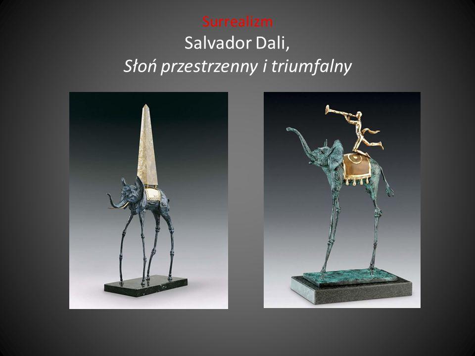 Surrealizm Salvador Dali, Słoń przestrzenny i triumfalny