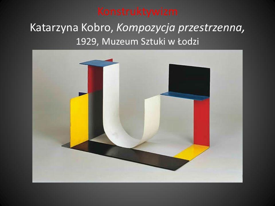 Konstruktywizm Katarzyna Kobro, Kompozycja przestrzenna, 1929, Muzeum Sztuki w Łodzi