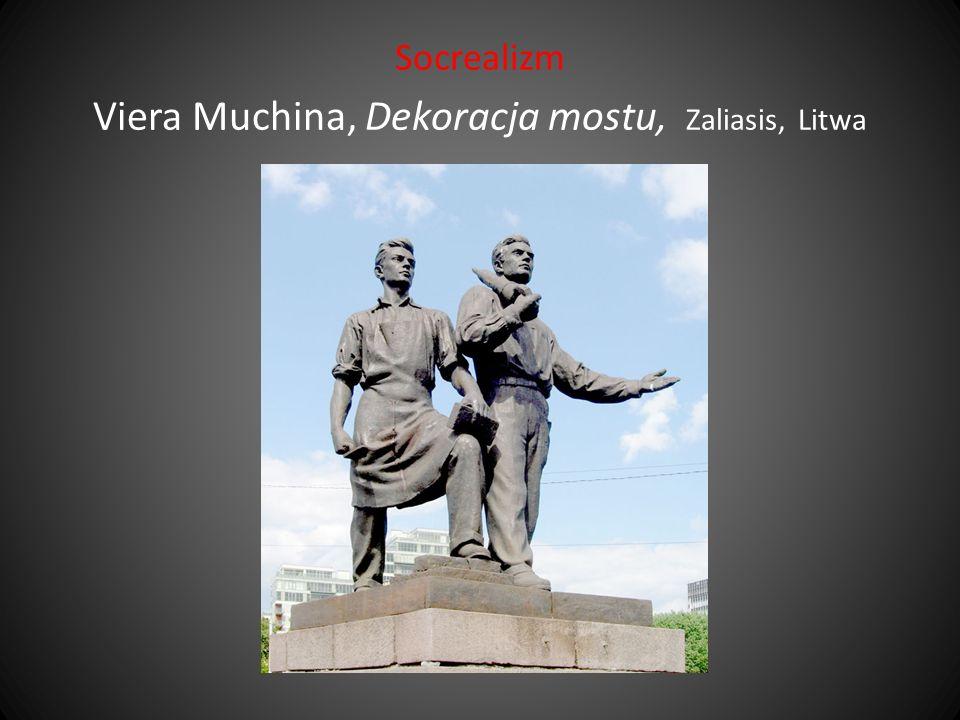 Socrealizm Viera Muchina, Dekoracja mostu, Zaliasis, Litwa