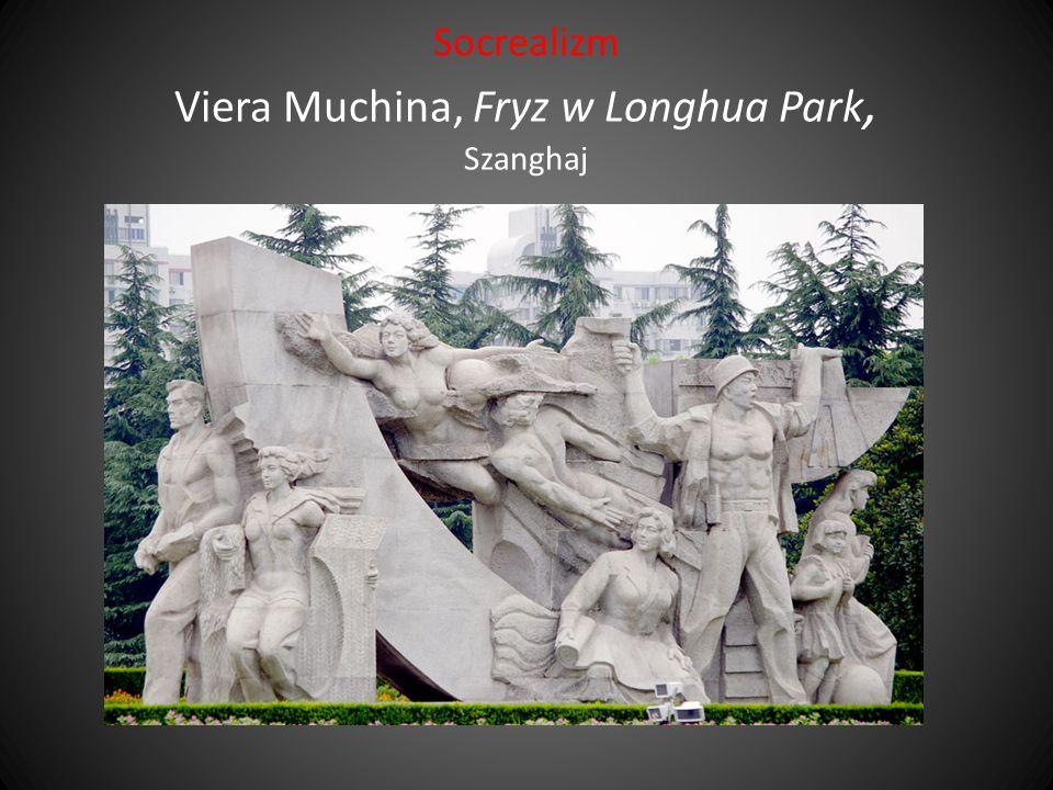 Socrealizm Viera Muchina, Fryz w Longhua Park, Szanghaj