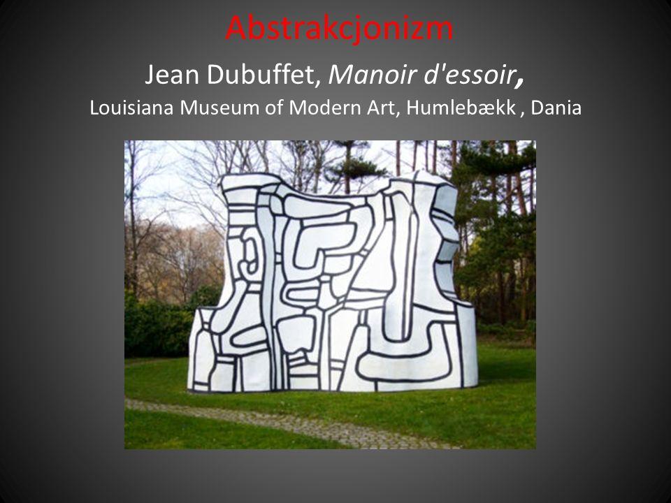 Abstrakcjonizm Jean Dubuffet, Manoir d'essoir, Louisiana Museum of Modern Art, Humlebækk, Dania