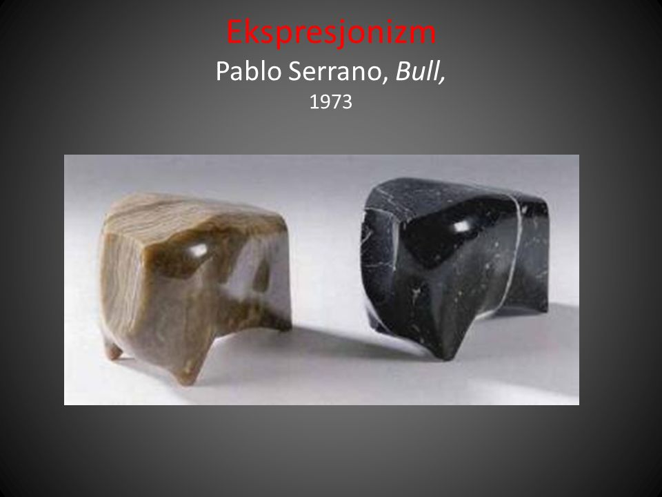 Ekspresjonizm Pablo Serrano, Bull, 1973