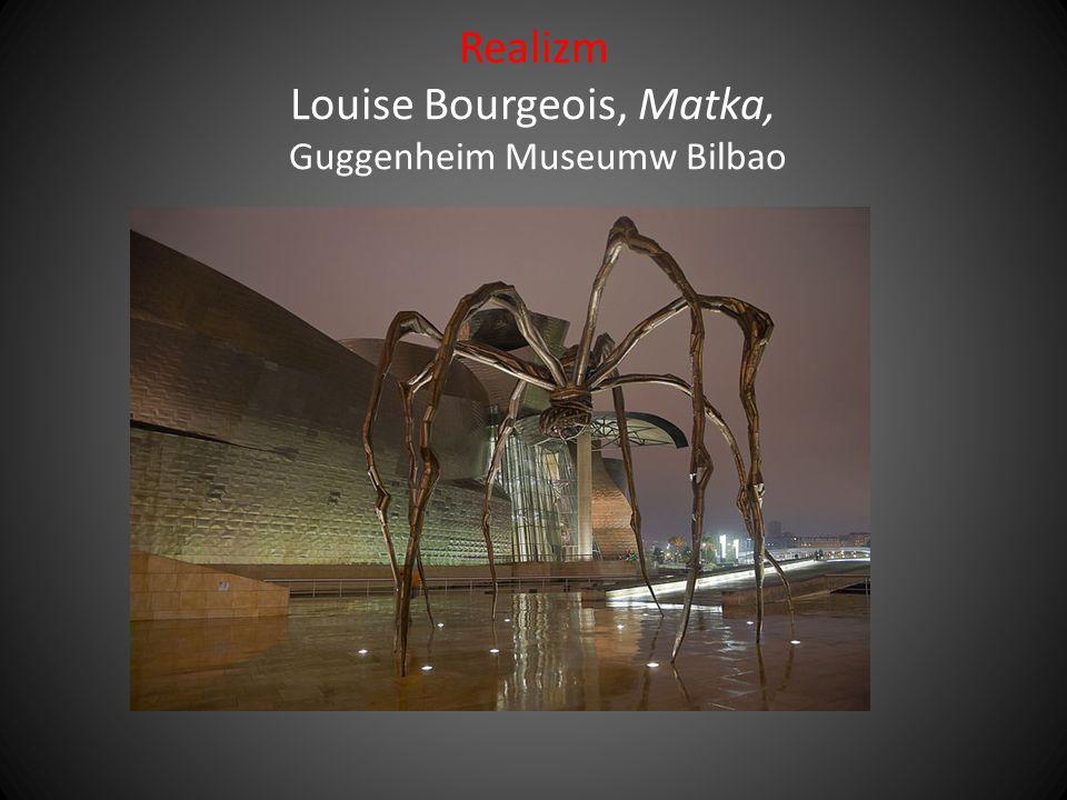 Realizm Louise Bourgeois, Matka, Guggenheim Museumw Bilbao