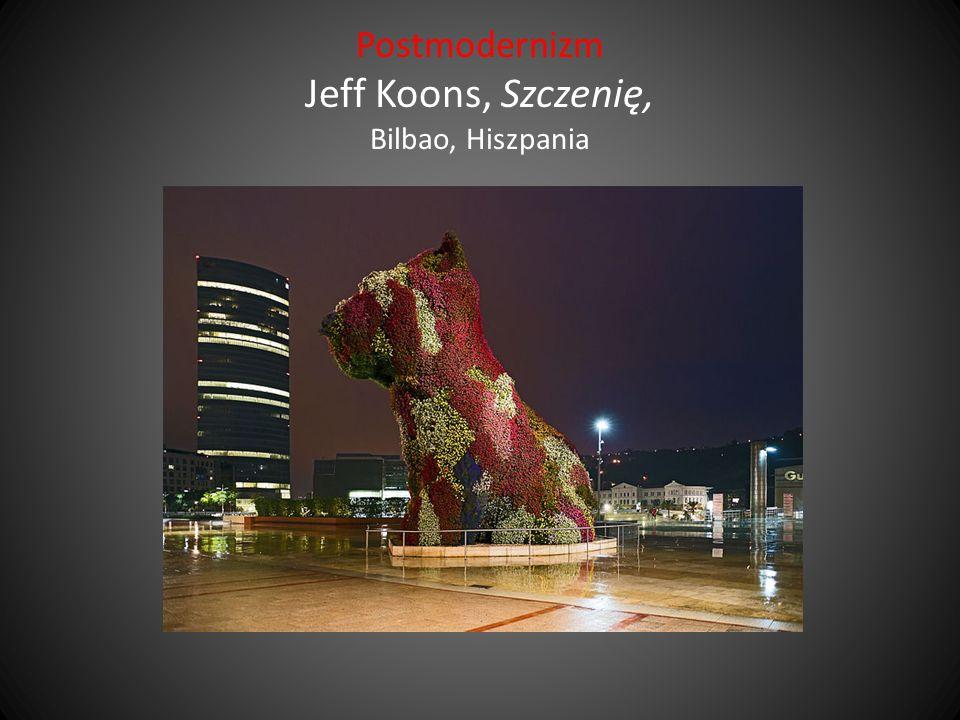 Postmodernizm Jeff Koons, Szczenię, Bilbao, Hiszpania