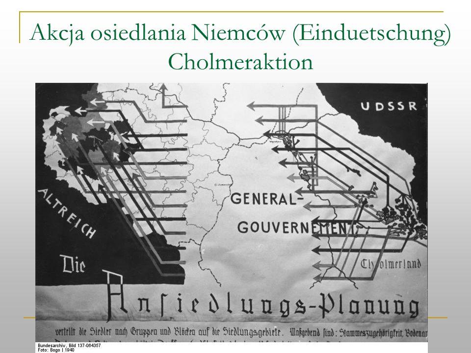 Akcja osiedlania Niemców (Einduetschung) Cholmeraktion