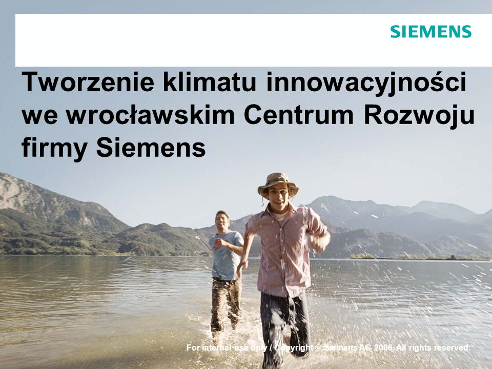Protection notice / Copyright notice© Siemens Sp.z o.o.