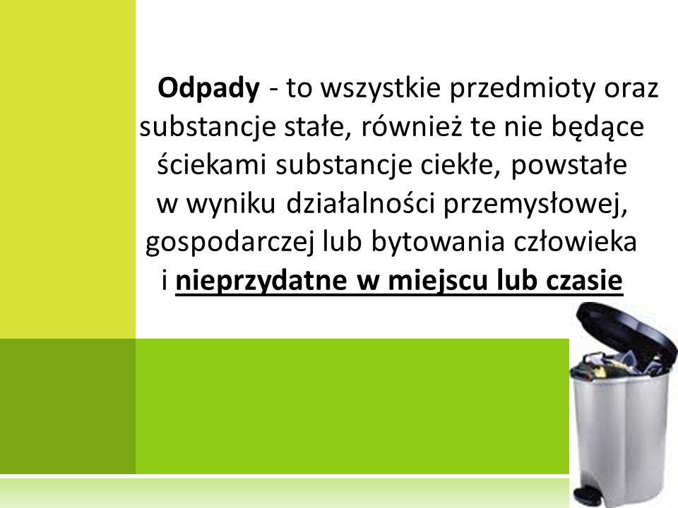 ODPADY SEGREGOWALNE W LATACH P RZYJAZNY I BEZPIECZNY SZPITAL - JAKOŚĆ W DZIAŁANIU O POLE, 08.06.2010 R.